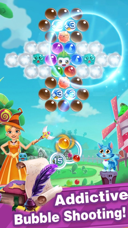 Bubble Shooter-New Pop Bubbles screenshot-1