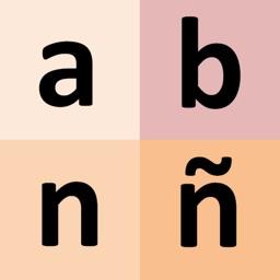 Spanish alphabet for students