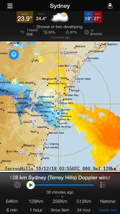 AUS Radar: WeatherAlert screenshot-3