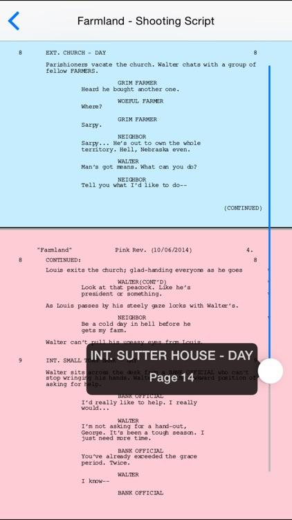 Final Draft Writer screenshot-4