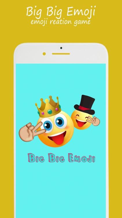 Big Big Emoji - fun emoji game
