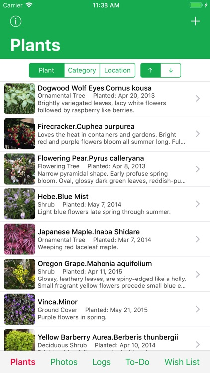 MyPlant Notebook screenshot-0