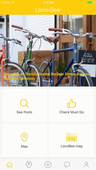 The smallest buddy of your journey, LOCOBEE screenshot one