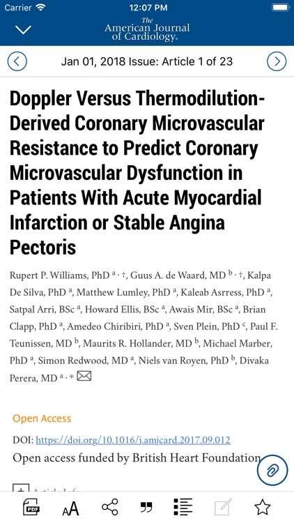American Journal of Cardiology screenshot-3