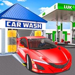 City Car Wash Gas Station Paid
