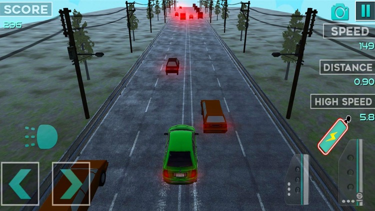 Highway Car Traffic Racer 3D screenshot-4
