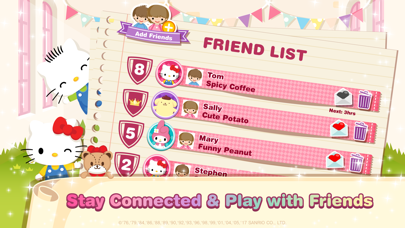 Hello Kitty Dream Cafe free Gems and Hearts hack