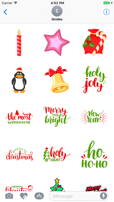 Animated Christmas Stickers Pack screenshot two