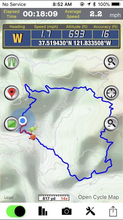 GPS Hiker screenshot-0