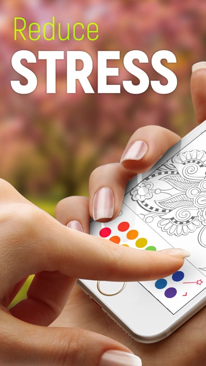 Colorful: antistress coloring
