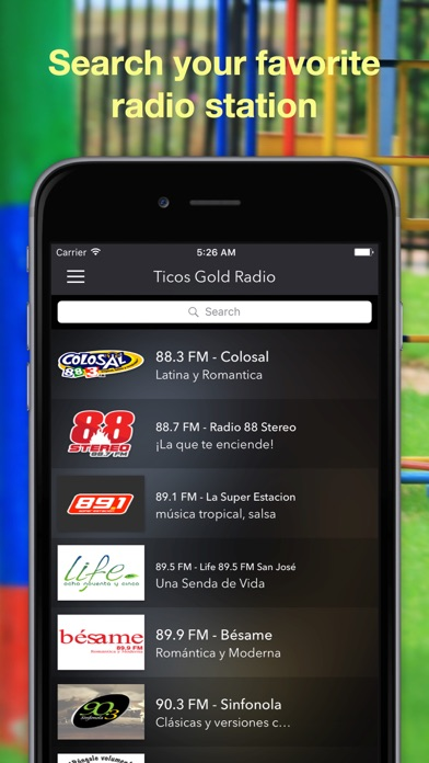 点击获取Ticos Gold Radio - Costa Rica