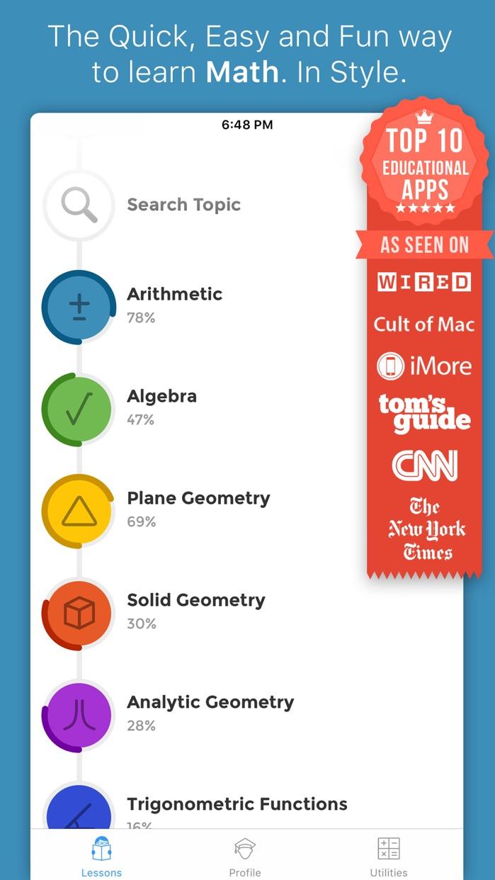 iMathematics! Screenshot