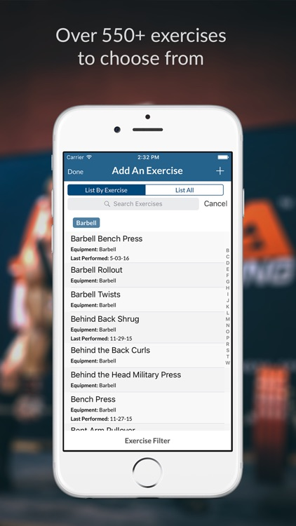 My Workout+ Exercise and Weightlifting Journal screenshot-3