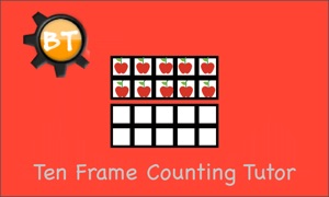 Ten Frame Counting Tutor TV