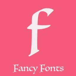 Fancy fonts art keyboard theme