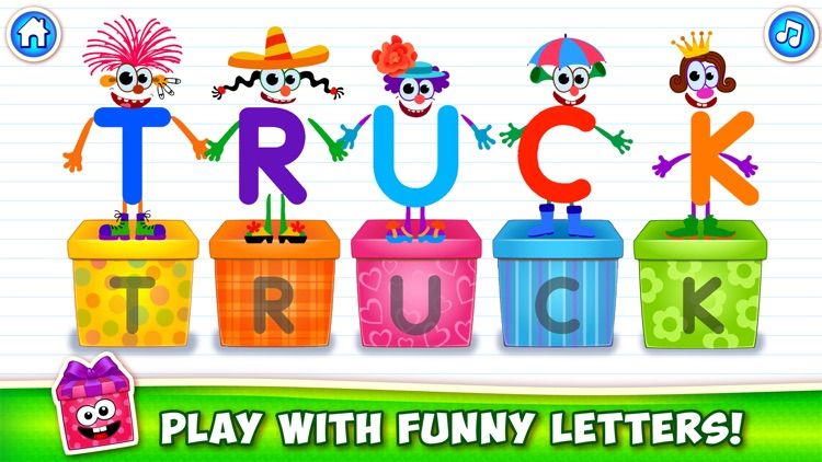 ABC for kids Alphabet games to screenshot-3