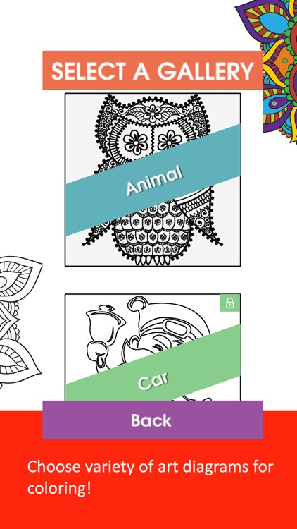 Color Therapy - Coloring Book screenshot-4