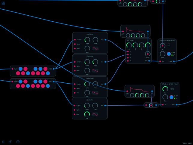 Audulus 3 Screenshot