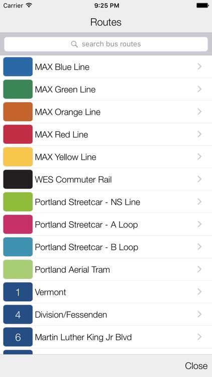 Transit Stop: Portland TriMet screenshot-4