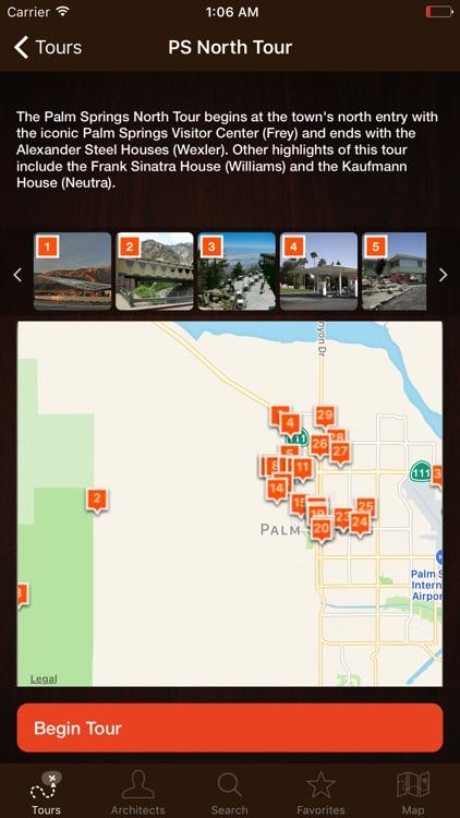 Palm Springs Modernism Tour