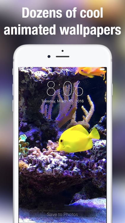 Aquarium Moving Wallpapers+ screenshot-3