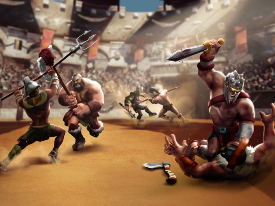 Gladiator Heroes Clash - игра для iPad