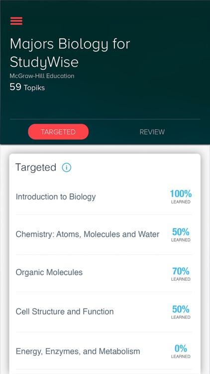 StudyWise Majors Biology