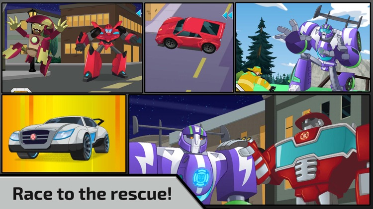 Transformers Rescue Bots screenshot-0