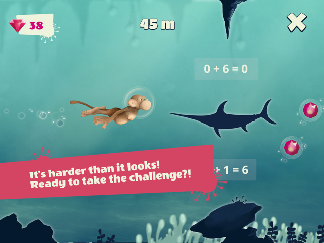 ‎10monkeys Diver Screenshot