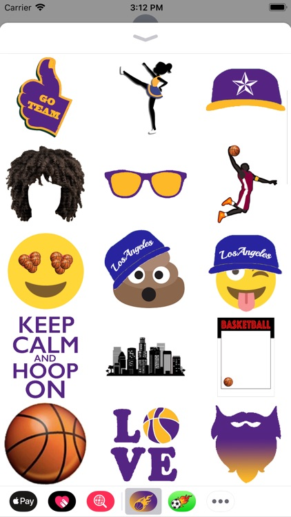 Los Angeles Basketball Pack