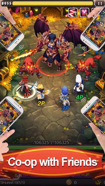Hyper Heroes: Marble-Like RPG screenshot-3
