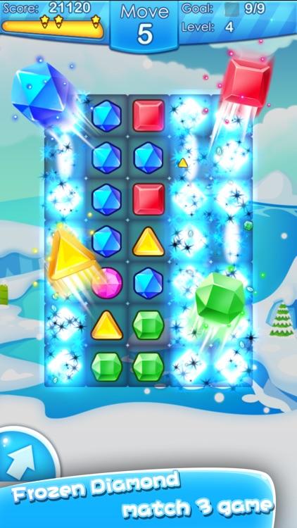 Frozen Pop Fun - Match 3 Games
