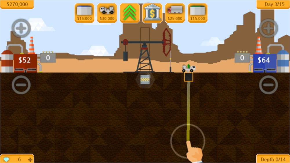 Petroleum – Drill & sell Cheat Codes