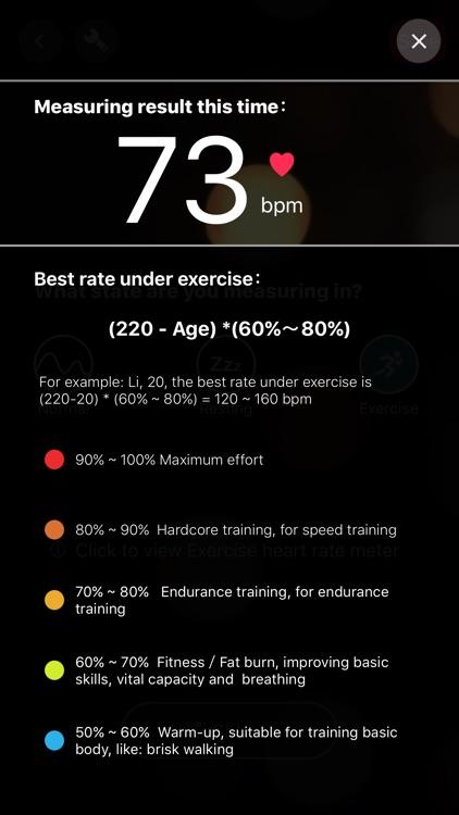 Heart Rate Monitor - Pulse BPM screenshot-3