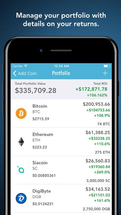 Cryptex - Portfolio & Tracker