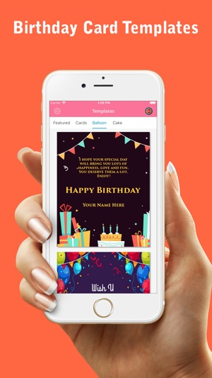 Happy Birthday Greetings Card On The App Store
