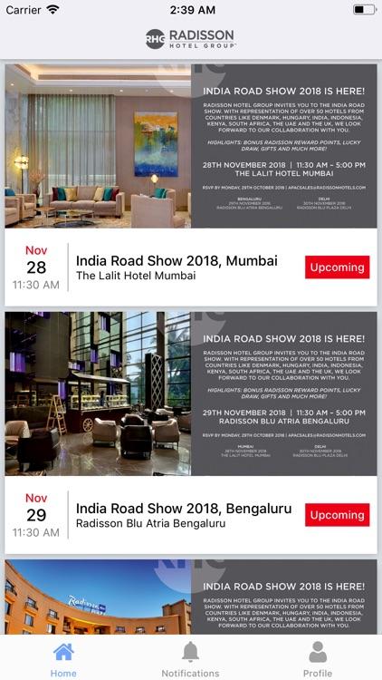 Hotels - RHG Road Show 2018