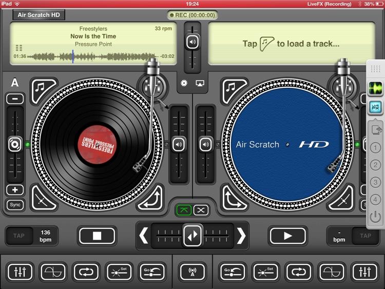 Air Scratch HD screenshot-4