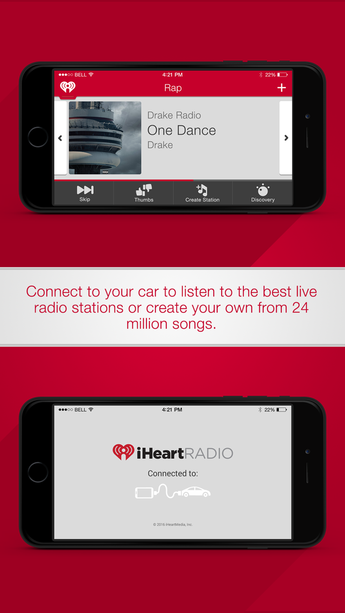 iHeartRadio for Auto Screenshot