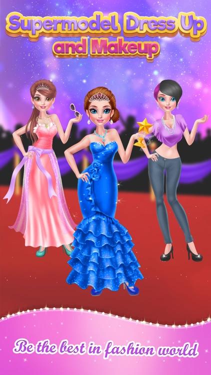Supermodel Dress Up and Makeup