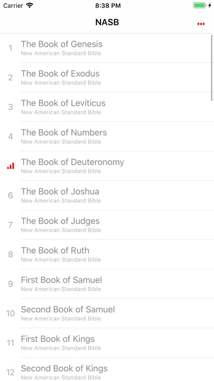 NASB Audio Bible