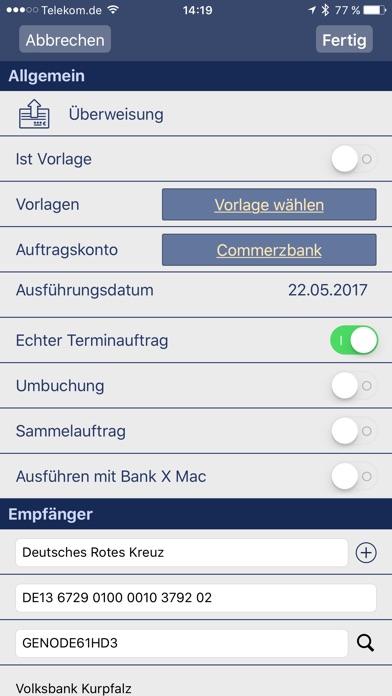 Bank X MobileScreenshot von 4
