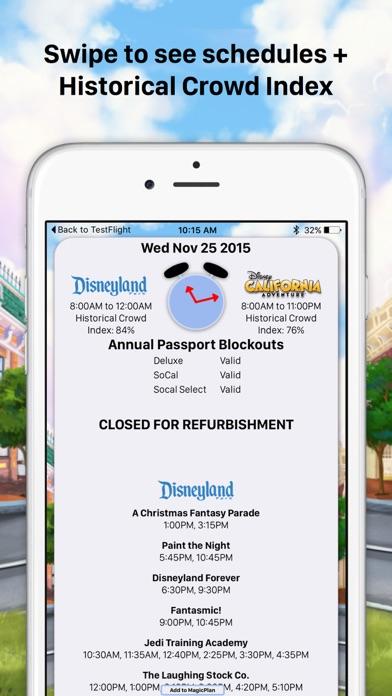 MouseWait Disneyland Lounge