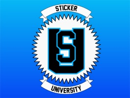 A sticker application created for students