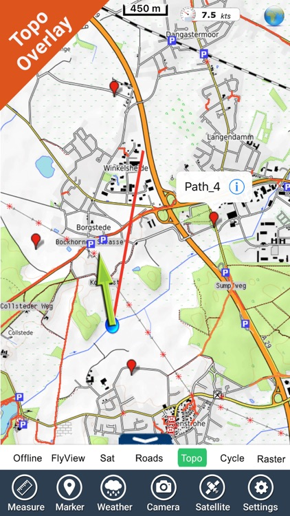 Lower Saxony GPS Map Navigator