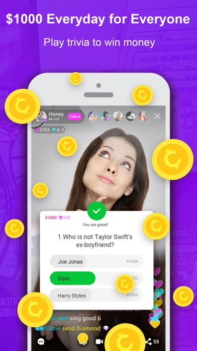 download Live.me – Live Video Chat apps 0