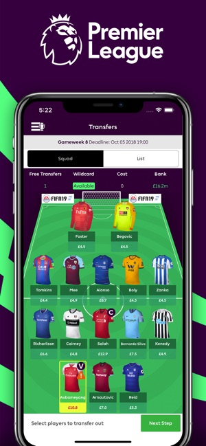Premier League - Official App Screenshot
