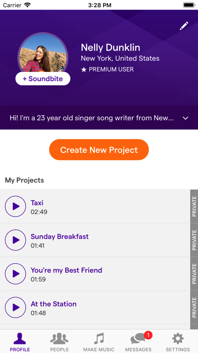 Soundtrap Screenshot