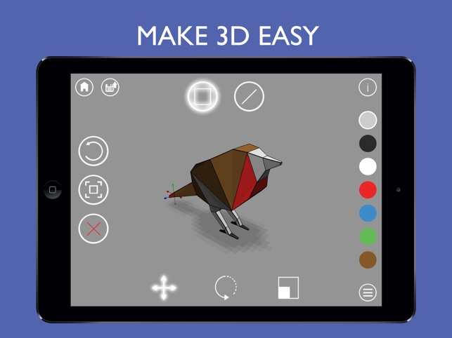 Phác thảo 3D: Modeling Easy 3D