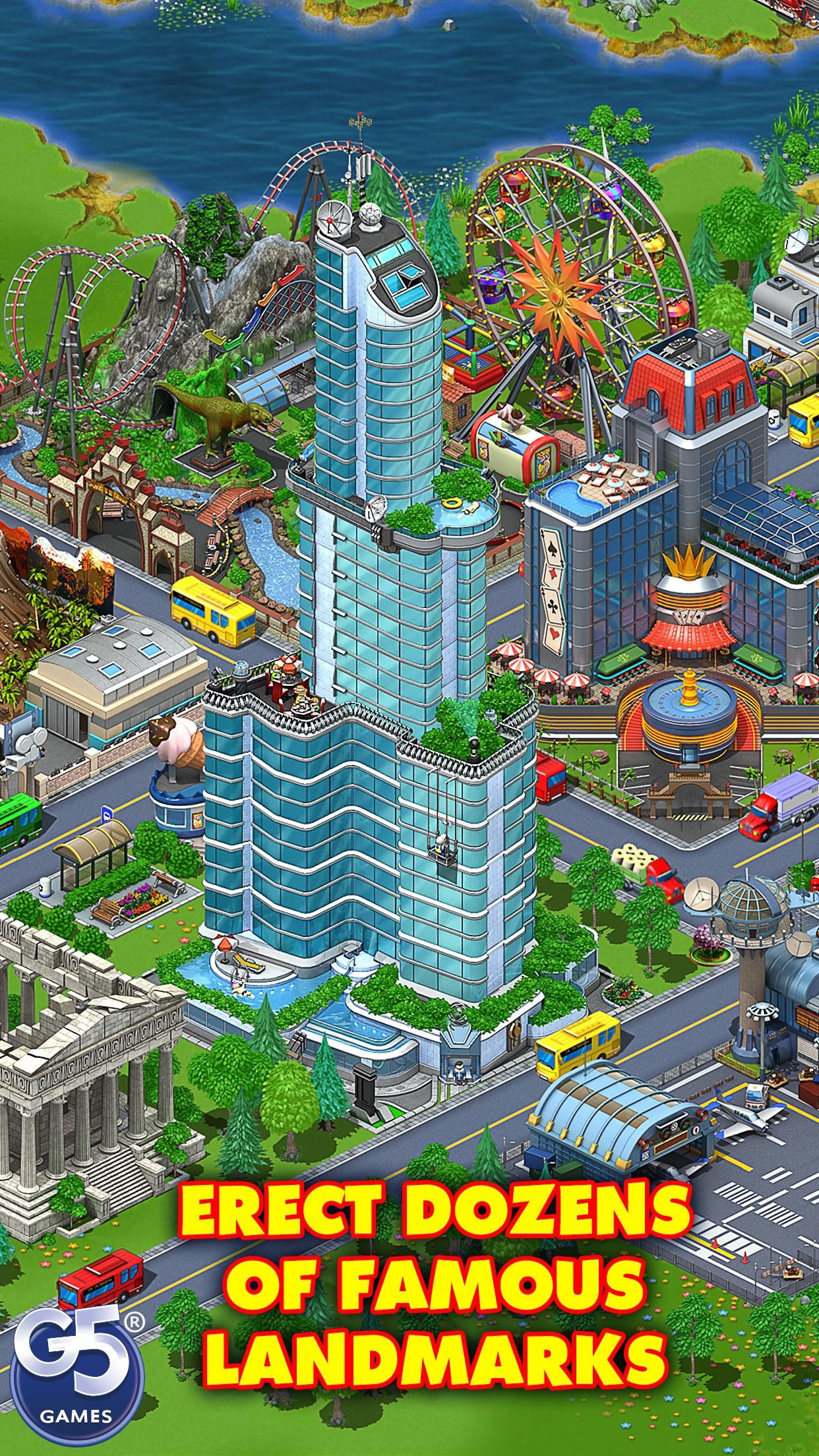 Virtual City Playground Screenshot